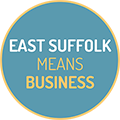 East Suffolk Means Business Logo