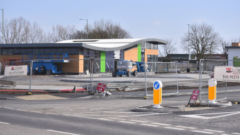 The new Gateway Retail Park, Lowestoft. Picture: Jamie Honeywood
