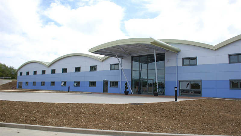 Spectra Packaging Offices and Warehouse, Halesworth